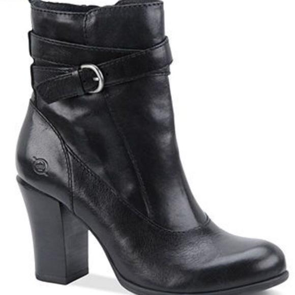 8b27f5abf60 Born Chyler Black High Heel Booties
